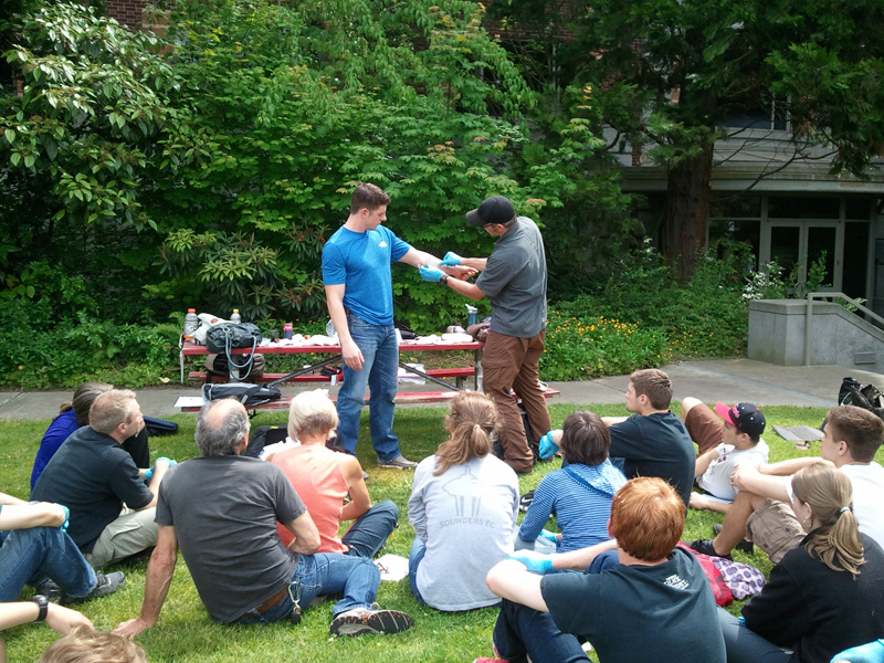 Outdoor first aid training hampshire