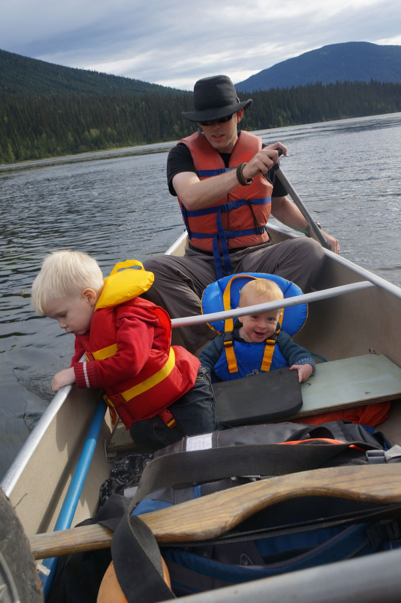 We Took Our Two Youngest Kids 3 Years Old And 1 On A Week Long Canoe Portage Trip Through The Bowron Lakes