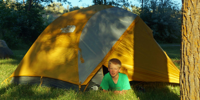 & The North Face Talus 3 Tent - The Outdoor Adventure
